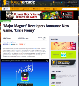 toucharcade circle frenzy pagodawest games